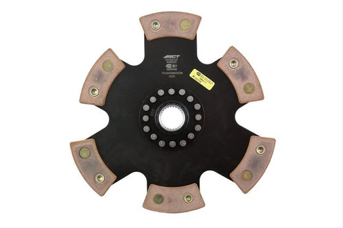 Advanced Clutch Technology 6266020 6 Pad Rigid Race Disc