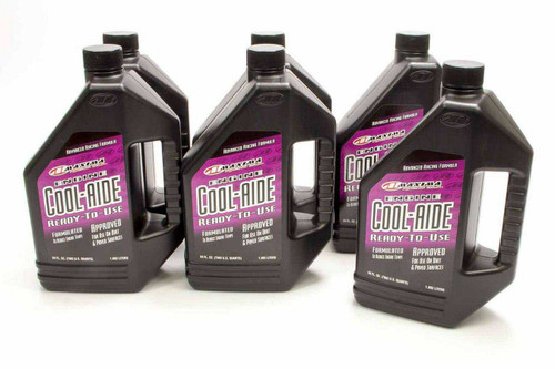 Maxima Racing Oils 84964 Cool-Aide Coolant Case 6x64oz Ready To Use