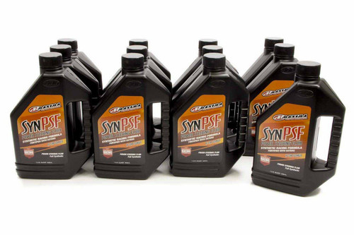 Maxima Racing Oils 89-01901 Power Steering Fluid Synthetic Case 12x32oz