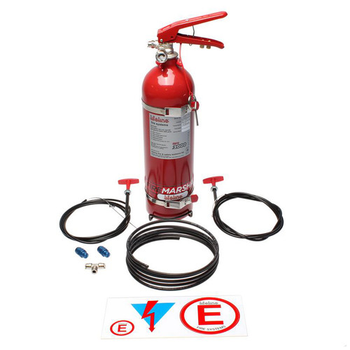 Lifeline Usa 101-225-001 Fire Suppression Club System Zero 2000 2.25 KG
