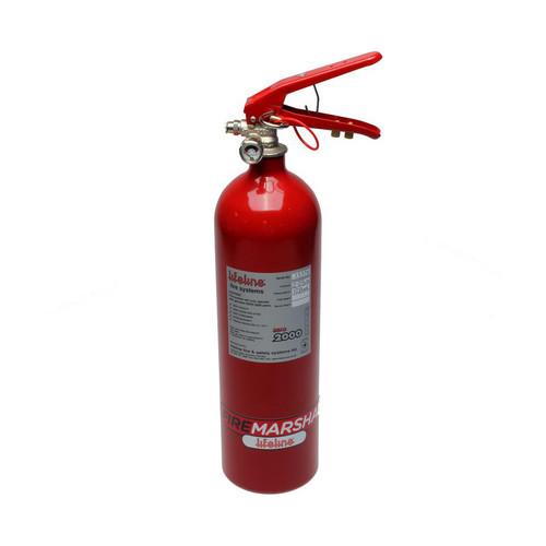 Lifeline Usa 101-225-001-B Fire Suppression Club Bottle Zero 2000 2.25 KG