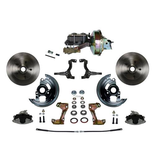 Leed Brakes FC1002-E1A1 Power Brake Conversion Kit A/F & X-Body Cars