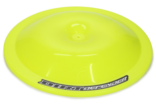 Dirt Defender Racing Products 5007 Air Cleaner Top 14in Neon Yellow