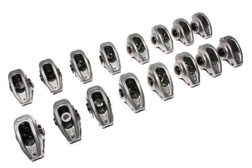 Comp Cams 17001-16 SBC H/E Alum. R/A's - 1.5 Ratio 3/8 Stud