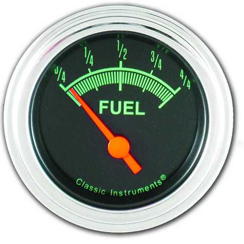 Classic Instruments GS11SLF G-Stock Series Fuel Gauge 2-1/8in Electrical