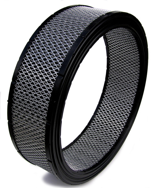 Spyder Filters SF3440 Air Filter 14in x 4in High Performance Street