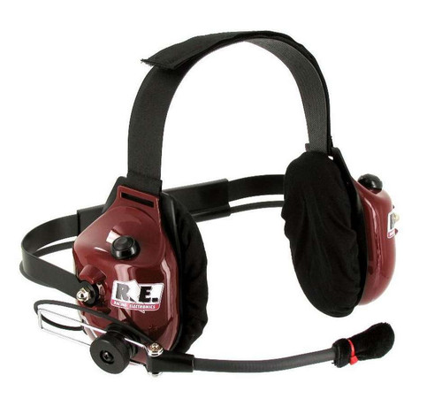 Racing Electronics RT006-2-DELUXE Headset 2 Way Platinum Deluxe Dual Radio Style