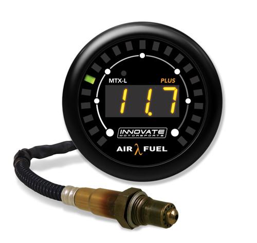 Innovate Motorsports 3924 MTX-L Plus Digital Air/ Fuel Ratio Gauge Kit