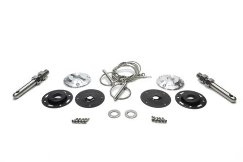 Drake Automotive Group FR3Z-6316892-LM Billet Hood Pin Kit 15- Mustang