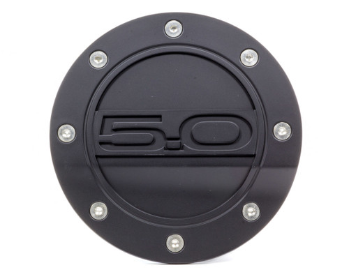 Drake Automotive Group FR3Z-6640526-5A Fuel Door 5.0 Black 15- Mustang