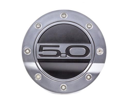 Drake Automotive Group FR3Z-6640526-5S Fuel Door 5.0 Silver/Blk 15-   Mustang