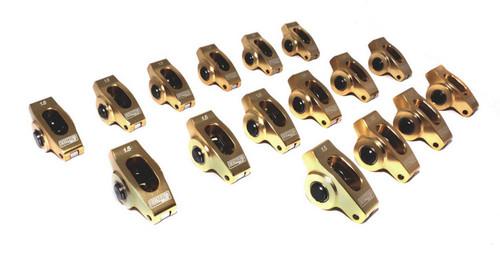 Comp Cams 19001-16 SBC Ultra Gold R/A's - 1.5 Ratio 3/8 Stud
