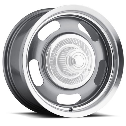 Vision Wheel 55-7883GMML0 Wheel 17X8 6-5.5  Gunmet al Rally