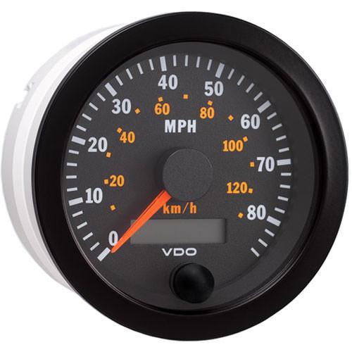 Vdo 437-152 Programmable Speedometer 85MPH/130KMH
