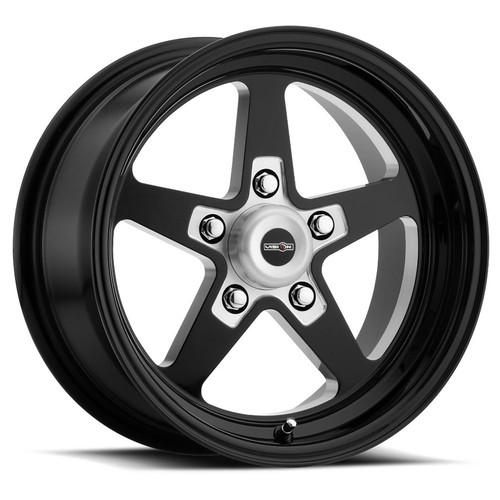 Vision Wheel 571-7461B-24 Wheel 17X4.5 5-120.65/4. 75 Gloss Black Vision S