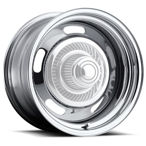 Vision Wheel 57-5804 Wheel 15X8 5-4.5/4.75 Ch rome Rally Vision
