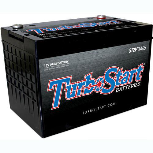 Turbo Start S12V3465 12 Volt Race / Street  / Off Road  1000 CA  850