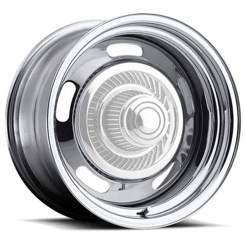 Vision Wheel 57-5873 Wheel 15X8 5-5 Chrome Ra lly Vision