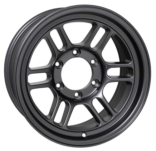 Enkei 520-680-8400GM RPT1 Matte Gunmetal Racing Wheel 16x8 6x139.7 00mm Offset 108.5mm Bore