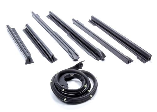 Soff Seal International 5093 Weatherstrip Kit Conver tible Top 6 Piece Kit
