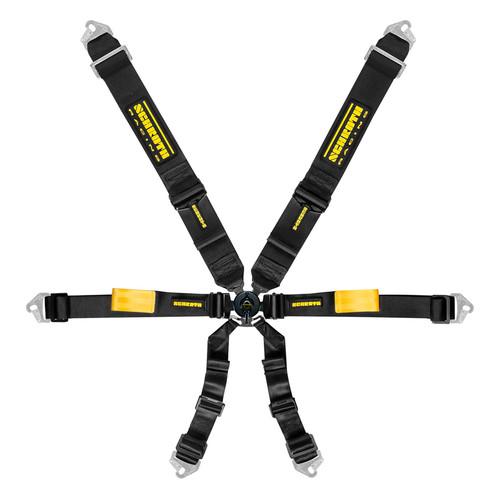 Schroth Racing SR94500-0 6pt Harness System Enduro Black