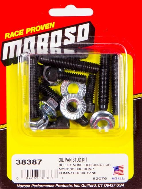 Moroso 38387 Bullet Nose Oil Pan Stud