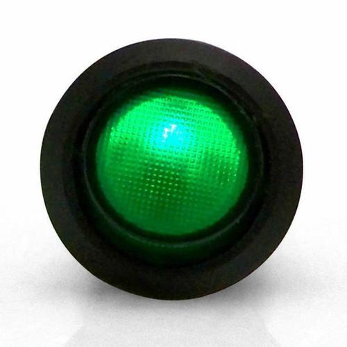 Keep It Clean KICSW32G Illuminated Rocker 6 Green