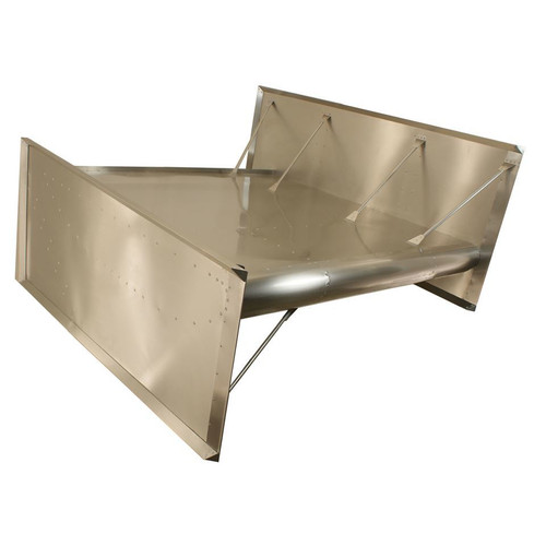Hepfner Racing Products VFT0512-K Top Wing Dished Dimpled Tubed