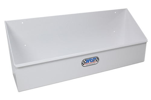 Hepfner Racing Products HRP6518-WHT Gear Shelf Single Row Holds 10 Cases White