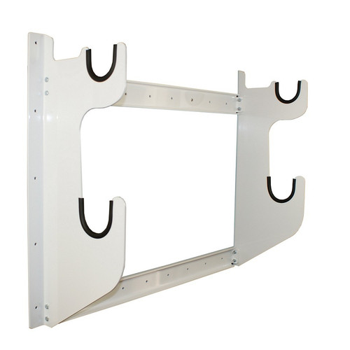 Hepfner Racing Products HRP6775-WHT Axle Rack 1 Front Axle 1 Rear End