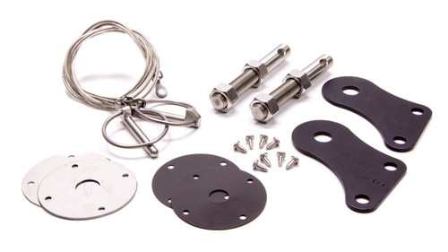 Drake Automotive Group S1MS-16892-SSK Hood Pin Kit Stainless 05-09 Mustang