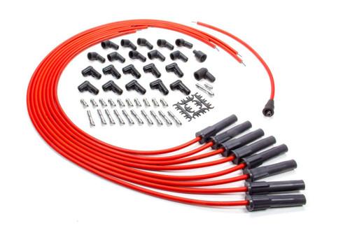 Advanced Fuel & Ignition Systems 850801 Plug Wire Set Universal set w/180 Deg plug Boot