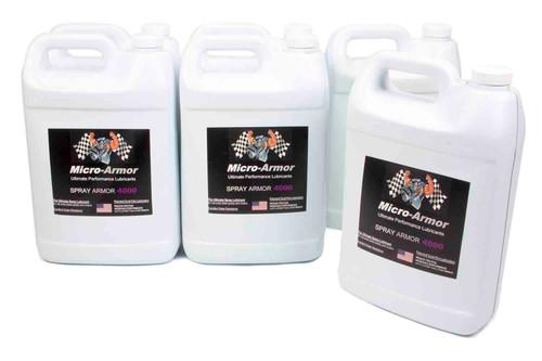 Micro-Armor 4030-06 4000 Spray Lubricant Case 6x1 Gal