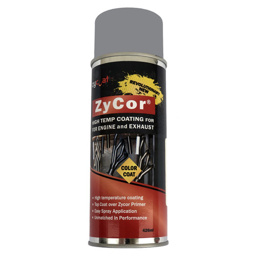 Zycoat 16013 ZyCor Porsche Gray Color Coat 13 oz Aerosol