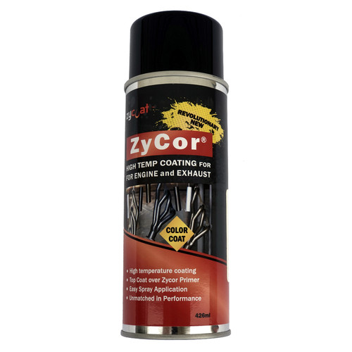 Zycoat 19013 ZyCor Bitchin Black Color Coat 13 oz Aerosol