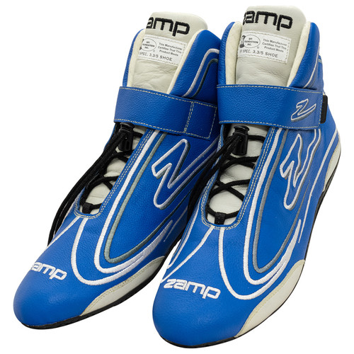 Zamp RS003C0409 Shoe ZR-50 Blue Size 9 SFI 3.3/5