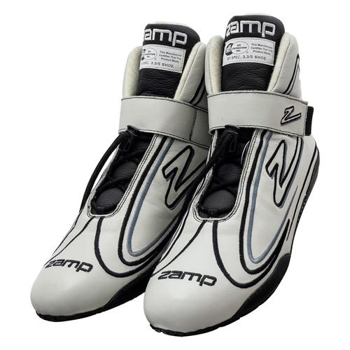 Zamp RS003C1508 Shoe ZR-50 Gray Size 8 SFI 3.3/5