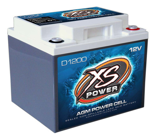 Xs Power Battery D1200 XS Power AGM Battery 12 Volt 300A CA