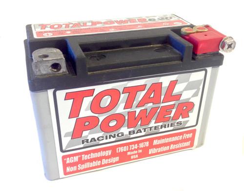 Total Power Battery TP620 6.5lb Racing Battery 120 CCA