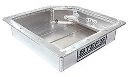Stefs Performance Products 4006 Fabricated Alum. Trans. Pan - Ford C4