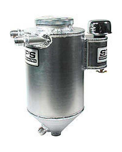Stefs Performance Products 4110 Drag Race Alum. D/S Tank 5qt. 7in Dia.x 17in