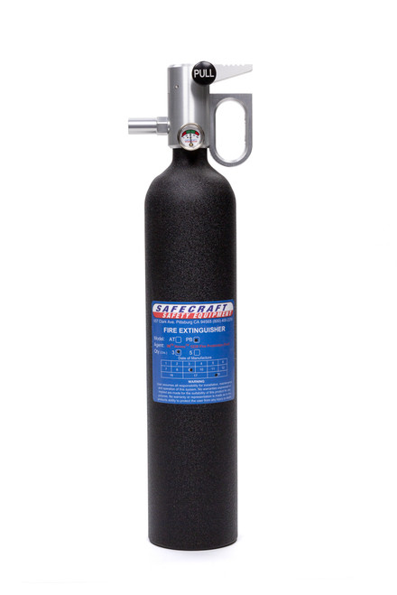 Safecraft PB3BW Fire Extinguisher 3lb Black Wrinkle Novec