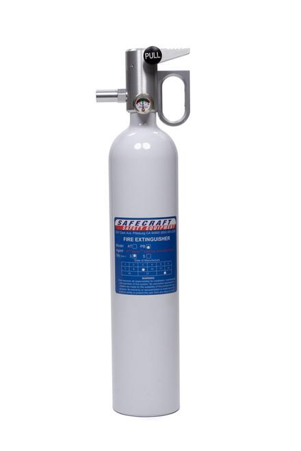Safecraft PB3W Fire Extinguisher 3lb White Novec