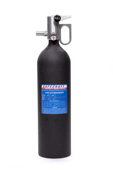 Safecraft PB5BW Fire Extinguisher 5lb Black Wrinkle Novec