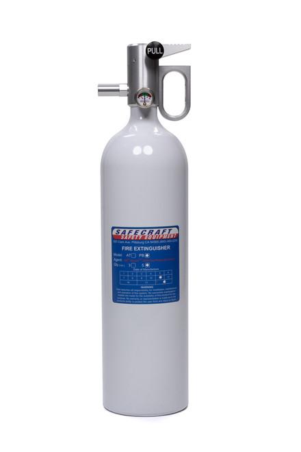 Safecraft PB5W Fire Extinguisher 5lb White Novec