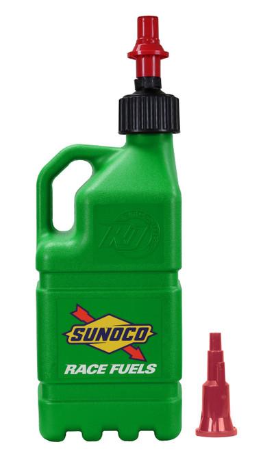 Sunoco Race Jugs R7200GR-FF Green Sunoco Race Jug w/ FastFlo Lid & Vehicle