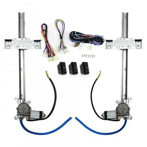 Auto-Loc AUTPW55033 Power Window Kit With Switches
