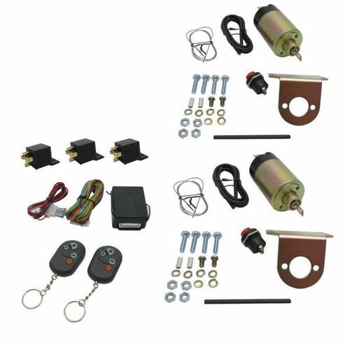 Auto-Loc AUTSVPRO3 2 Door Remote Shaved Handle Kit 35lb Solen.