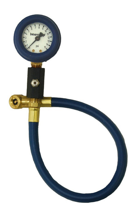 Intercomp 360062 Deluxe Air Gauge 2in 0-15 PSI