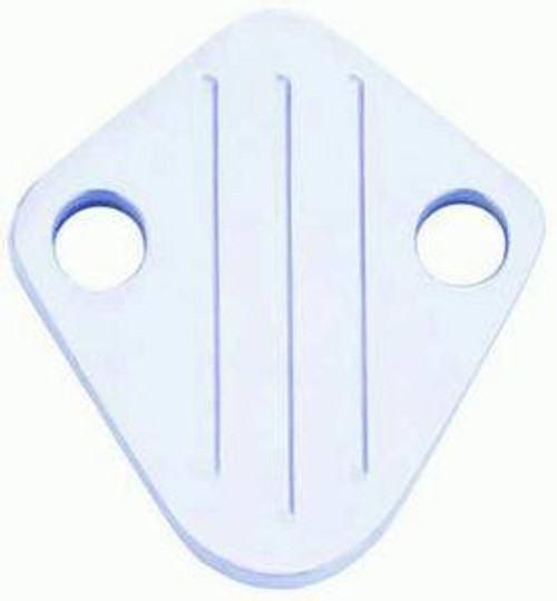 Racing Power Co-Packaged R6258 Polished Alum BB Chevy Block Off Plate